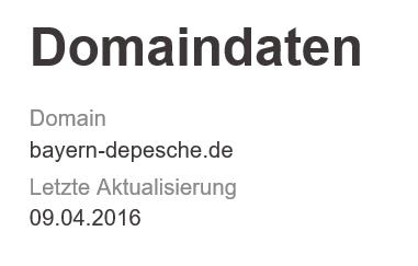 13.04.2016 Bayern Depesche Max Semmler 4