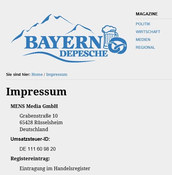 19.05.2016 Bayern Depesche 1