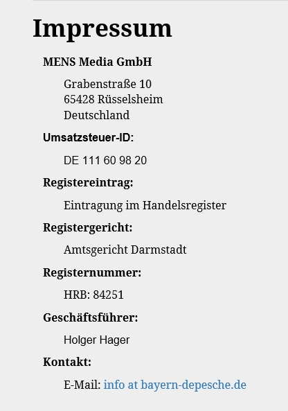 19.05.2016 Bayern Depesche 2