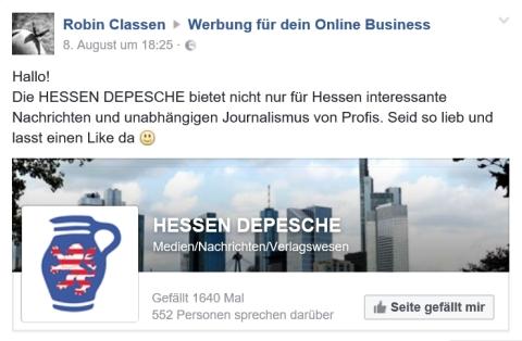 22.08.2016 Hessen Depesche 06