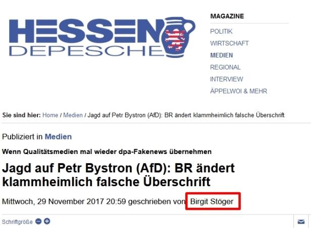 01.12.2017 Hessen Depesche 01