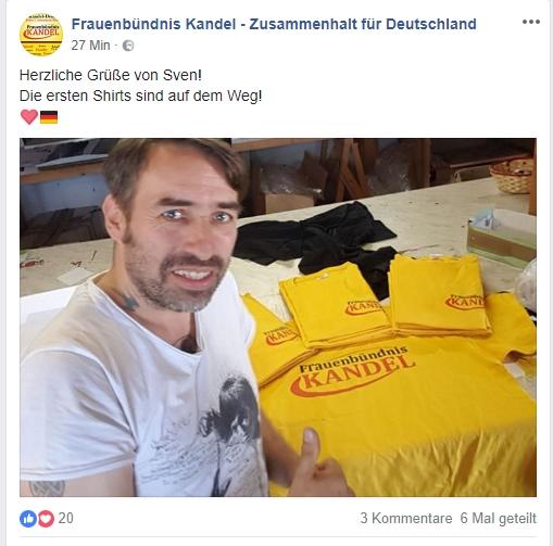 29.06.2018 Fraeunbündnis Kandel Sven Liebich 01
