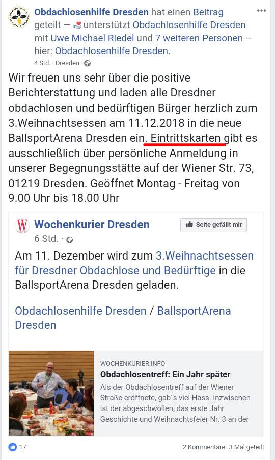 Weihnachtsessen Dresden.Rechtsextremer Dj Happy Vibes Zu Gast Beim 3 Weihnachtsessen Der